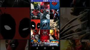 superheroes wallpaper hd youtube