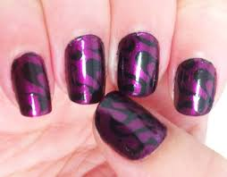 purple design nails image collections nail art designs