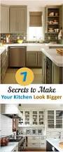 7 secrets to make your kitchen look bigger kitchens house and