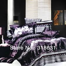 Wolf Bed Sets Design Bedroom Ideas With Fox Printed Bed Sets 3d