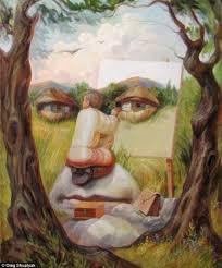 mind ing optical illusions paintings by oleg shuplyak