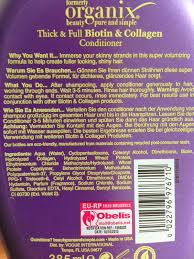 curiously quinn review organix thick and full biotin u0026 collagen