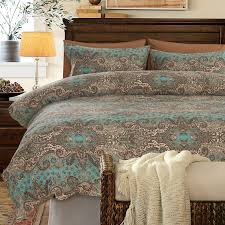 turquoise brown and khaki classic baroque style shabby chic