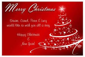 christmas card ne wall