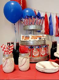Birthday Party Decorations At Home Top 25 Best Baseball Themed Parties Ideas On Pinterest Baseball