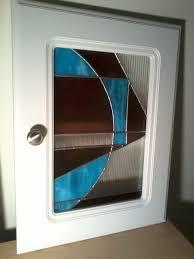 Repurpose Cabinet Doors Custom Made Repurposed Stained Glass Cabinet Doors By Ibg Creative