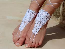 barefoot sandals handmade accessories hippie jewelry wedding