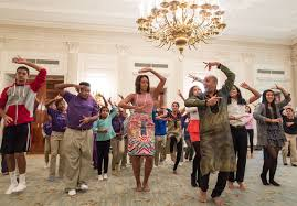 first lady michelle obama celebrates diwali at the white house