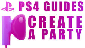 Creating A Vita Ps4 Guides How To Create A Cross Game Party On Playstation 4 And