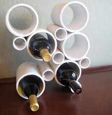 diy pvc pipe wine rack bob vila white wine rack sosfund