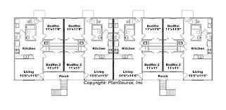 in apartment plans 8 unit apartment plan j778 8