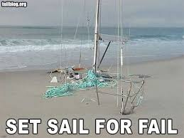 Sail Meme - set sail for fail failboat know your meme