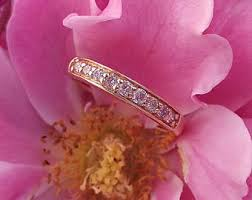 Pink Diamond Wedding Ring by Pink Diamond Ring Etsy