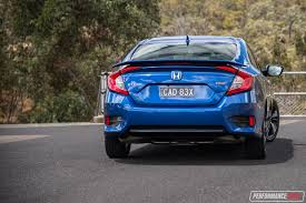 Civic Engine Size 2016 Honda Civic Rs Turbo Review Video Performancedrive