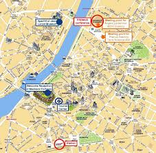 map of poitiers angers map and angers satellite image