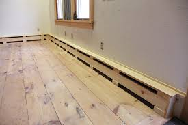 Heated Floor Under Laminate Remodeler Randal Patterson Shows How To Make Simple Wooden Covers