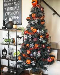 halloween tree decorating ideas popsugar moms