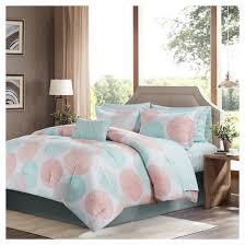 coral bedding sets queen target
