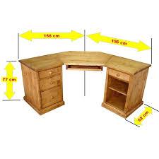 bureau informatique bois massif bureau d angle bois bureau d angle 90a pietement metallique bureau