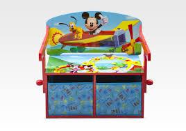 bureau mickey storage benches desks mickey mouse 3 in 1 storage bench desk