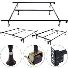 amazon com new metal bed frame adjustable queen full twin size