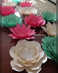 42 best paper flower sets images on pinterest paper flowers