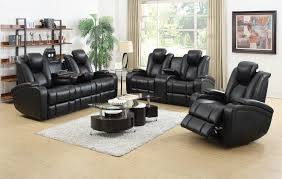 home theater couches coaster delance home theater seating motion collection 601741p