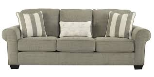 Ashley Sleeper Sofa by Baveria Queen Sleeper Sofa In Fog