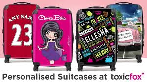 suitcases personalised suitcases at toxicfox co uk youtube