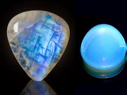 dark blue opal invoguejewelry moonstone or opalite how to spot the difference