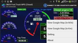 Ford Diesel Truck Fuel Economy - obdii ford truck mpg diesel android apps on google play