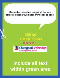 8 5 x11 brochure template template files chicagoink printshop