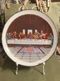 the last supper plates the last supper plate an original artmark japan collectible plate