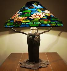 tiffany l base reproductions museum quality reproduction of tiffany studios new york waterlily