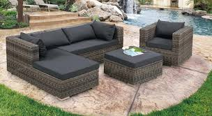 Balcony Furniture Set by Rattan Seater Garden Patio Furniture Set Furniture Belladonna