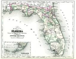 Map Of Fort Walton Beach Florida by Florida 1878
