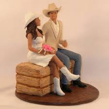 western wedding cake topper western wedding cowboy boot cake topper western and groom