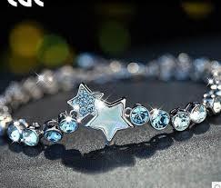 multi color swarovski crystal bracelet images Stars swarovski crystal bracelets for women romantic bracelet for jpg