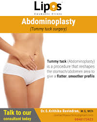 tummy tuck is a procedure that reshapes the stomach abdomer area