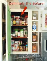 kitchen organization how i organized my spice cabinet a