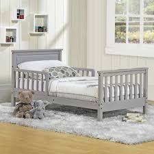 Toddler Bed With Rail Baby Relax Haven Toddler Bed Grey