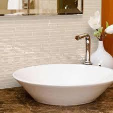 Tile Backsplashe by Beige Cream Tile Backsplashes Tile The Home Depot