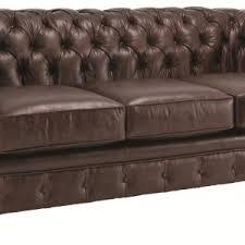 Tufted Faux Leather Sofa Furniture Luxury Tufted Leather Sofa For Exclusive Interior Decor