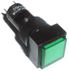 panel mount indicator lights green 12mm 12v square panel mount ls leds lights west florida
