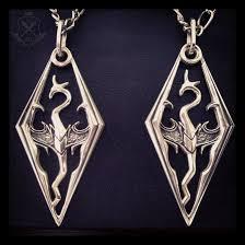 dragon necklace skyrim images Handmade skyrim dragon pendant 1 by gamefancraft png