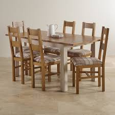 Table With 6 Chairs Dining Sets Free Delivery Oak Furniture Land