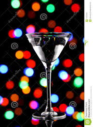 christmas martini martini cocktail with christmas lights stock image image 17051879