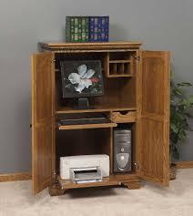 Computer Armoire Corner Computer Armoire With Storage Jen Joes Design Corner