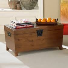 Trunk Coffee Table With Storage Pyramid Trunk Storage Bench Coffee Table Walmart Com