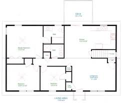 Open Floor Plans Ranch Homes Interior Simple Home Floor Plan Pertaining To Superior Open